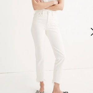 Madewell Jeans - Madewell Perfect Summer Jean in White